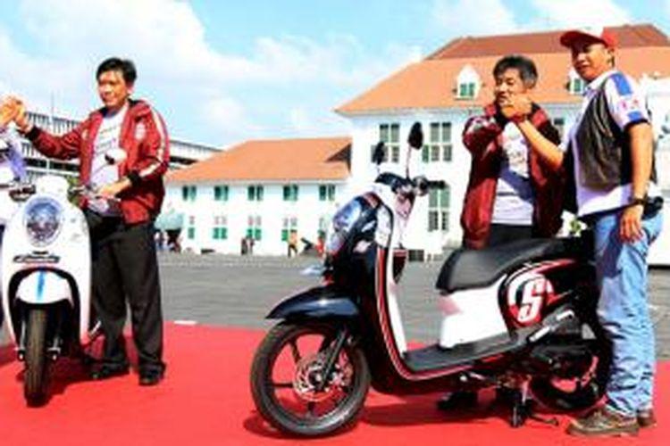 Touring skutik Honda Smart Adventure Jawa-Bali-Lombok mulai digeber.