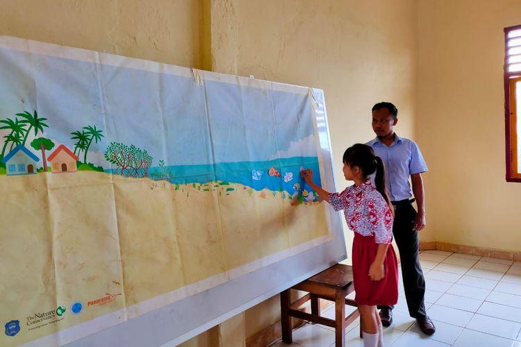 Cara mengajarkan peduli lingkungan di SD Negeri Kulati, Wakatobi