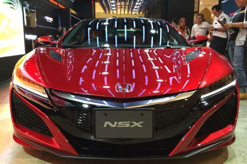 Honda Tunda Jual NSX di Indonesia