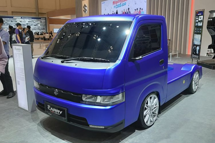 New Suzuki Carry Fluzh Concept