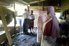 Setelah Merusak Rumah Warga, Gajah Liar Mengambil Lima Karung Padi
