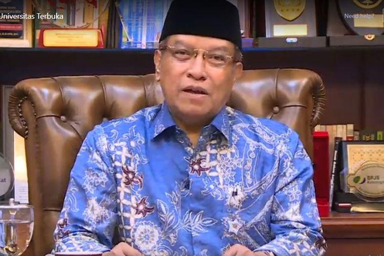 Halal bihalal Universitas Terbuka (9/6/2020) mengangkat tema ?Islam Rahmatan Lil?alamin Perekat Persatuan dan Kebersamaan?.