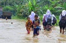 Hujan Deras Guyur Lhokseumawe, Ratusan Rumah Terendam