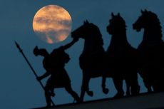 6 Fakta Bulan Purnama Supermoon Pink Moon Malam Ini, Bulan Paskah hingga Kelahiran Hanuman