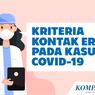 INFOGRAFIK: Kriteria Kontak Erat pada Kasus Covid-19