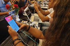 Bahagianya Warga Jayapura Mendapat Layanan Internet Setelah 24 Hari