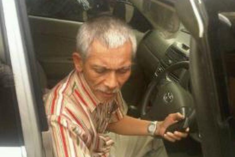 Ketua Tim Forensik RSUP Hasan Sadikin Bandung dr Noorman Herryadi di Polrestabes Bandung, Kamis (15/8/2013).
