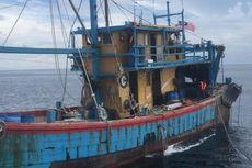 KKP Ringkus Kapal Berbendera Malaysia Berawak Warga Myanmar