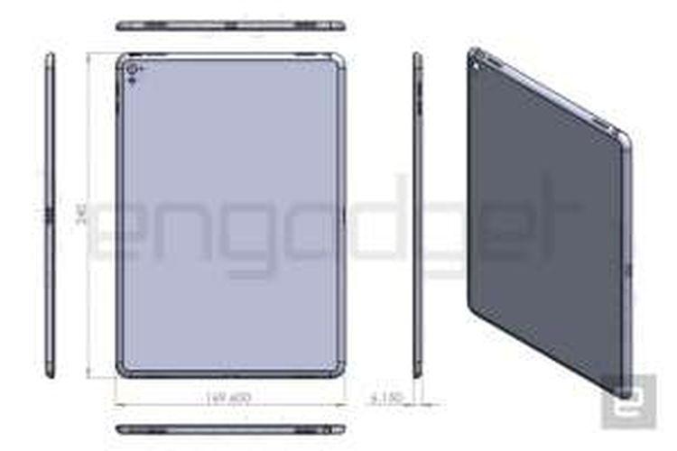 Bocoran foto iPad Air 3