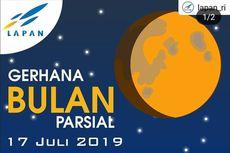 Gerhana Bulan Terakhir 2019 Bisa Dilihat Malam Ini, Ayo Lihat Langit!