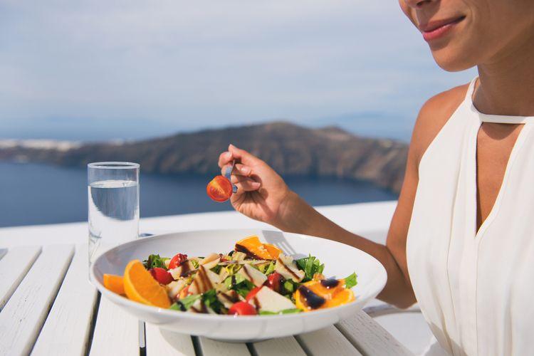 Ilustrasi diet mediterania
