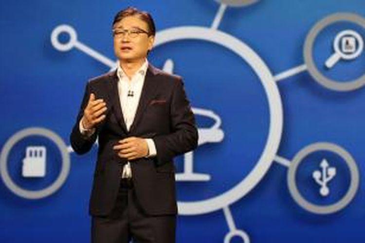 CEO Samsung Electronics BK Yoon.