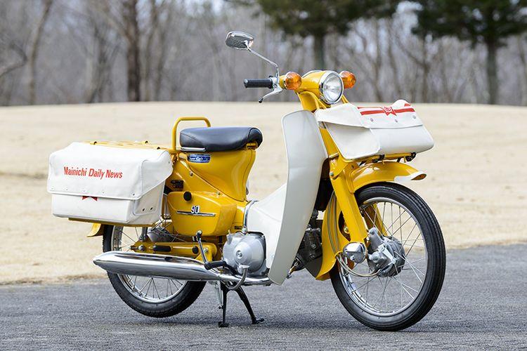 5 Motor Bebek Honda yang Dibuat Khusus Pak Pos dan Loper Koran
