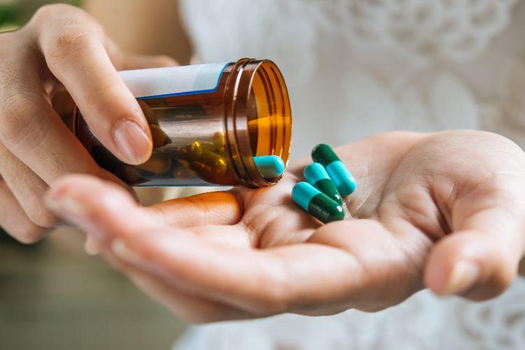 Ilustrasi obat sakit kepala