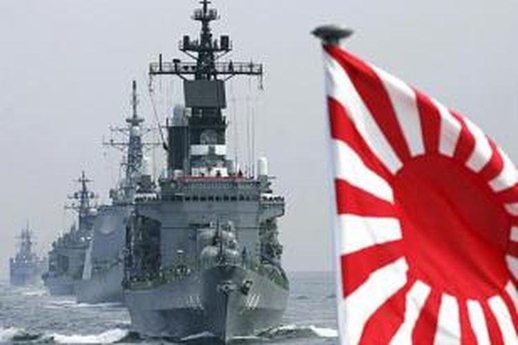 Angkatan laut Jepang.