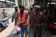 Sanksi Pelanggar PSBB di Jakbar: Menyapu, Mengecat Trotoar, hingga Bersihkan WC Umum