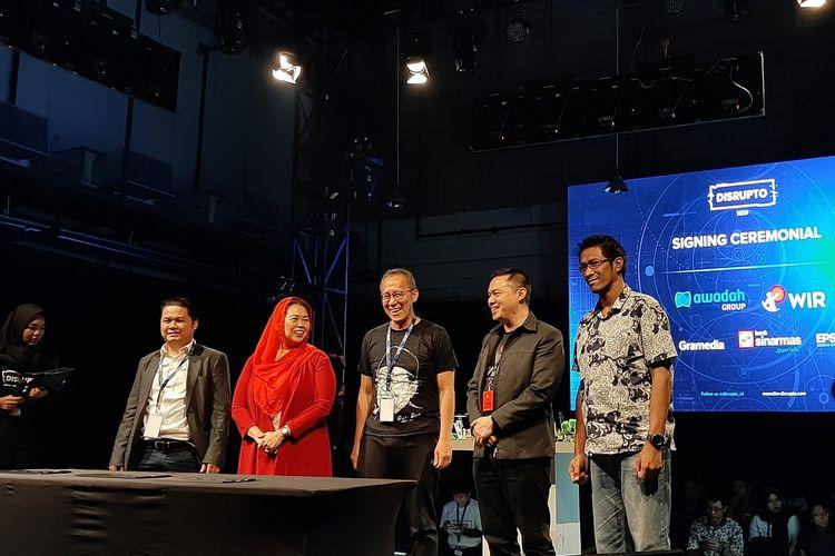 Peluncuran toko awadah di disrupto 2019