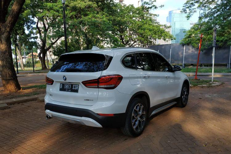 Ada beberapa ubahan bagian belakang pada BMW X1 facelift, utamanya pada lampu