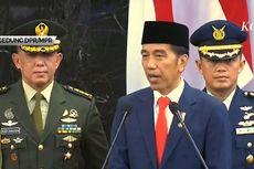 Pidato Perdana, Jokowi Kembali Prioritaskan Pembangunan SDM dan Infrastruktur