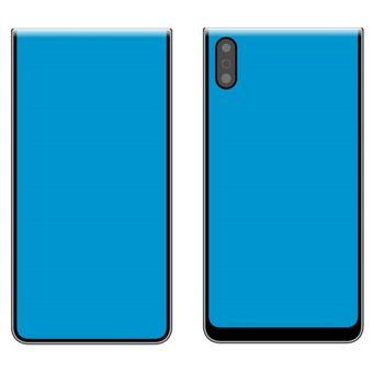 Ponsel lipat Xiaomi dengan desain clamshell.