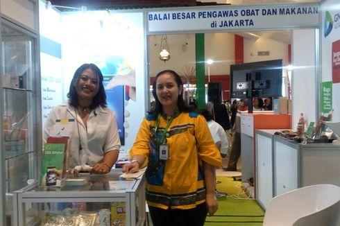 Stan Informasi Layanan Publik DKI di Jakarta Fair Sepi Pengunjung