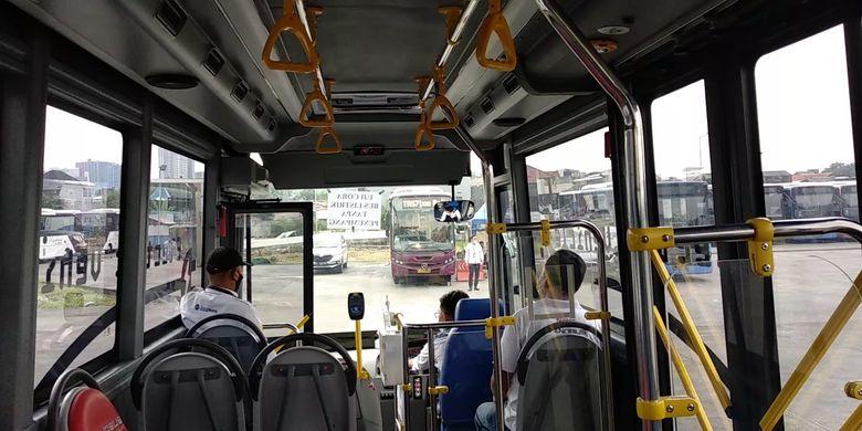 Kabin Bus listrik medium Inka E-Inobus