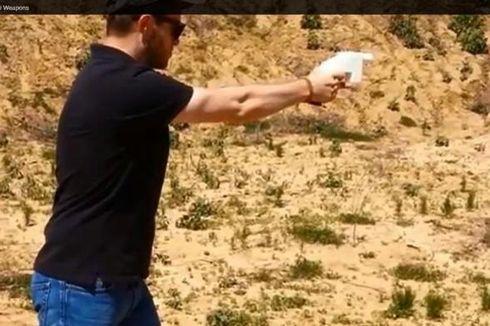 Beredar Video Uji Tembak Pistol Plastik Berbahan Komponen Printer