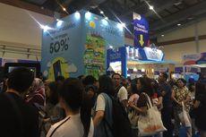 Citilink Beri Diskon 60 Persen di Kompas Travel Fair, Antrean Pengunjung Mengular