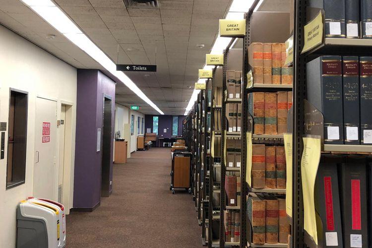 Ilustrasi. Perpustakaan di ANU