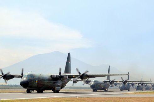 Hercules Milik TNI AU Hilang Kontak di Wamena