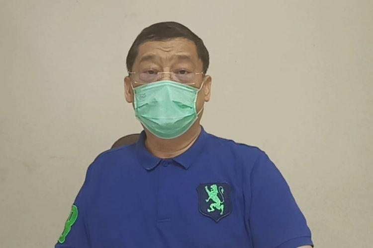 Eddie Kusuma, kuasa hukum pihak PT Ayam Geprek Benny Sujono terkait sengketa merek Geprek Bensu.