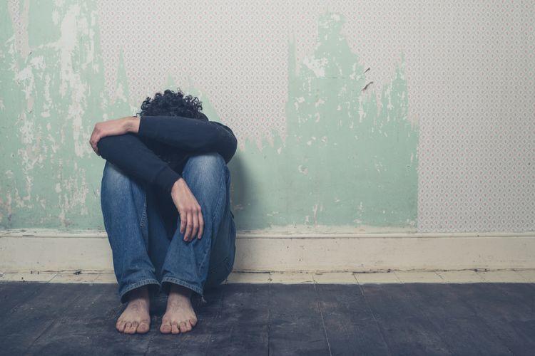 Ilustrasi trauma dan kesedihan