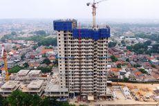 Apartemen JKT Living Star Resmi Tutup Atap
