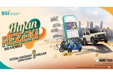 Bagi-bagi Suzuki Jimny hingga Sepeda Brompton, Hujan Rezeki BSI Mobile Bikin Nasabah Mendadak Sultan