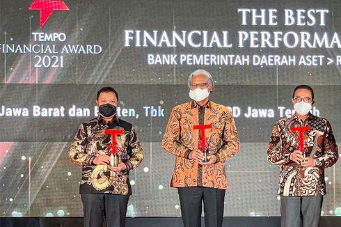 Kinerja Positif, BJB Raih Predikat The Best Financial Performance Bank di TFA 2021