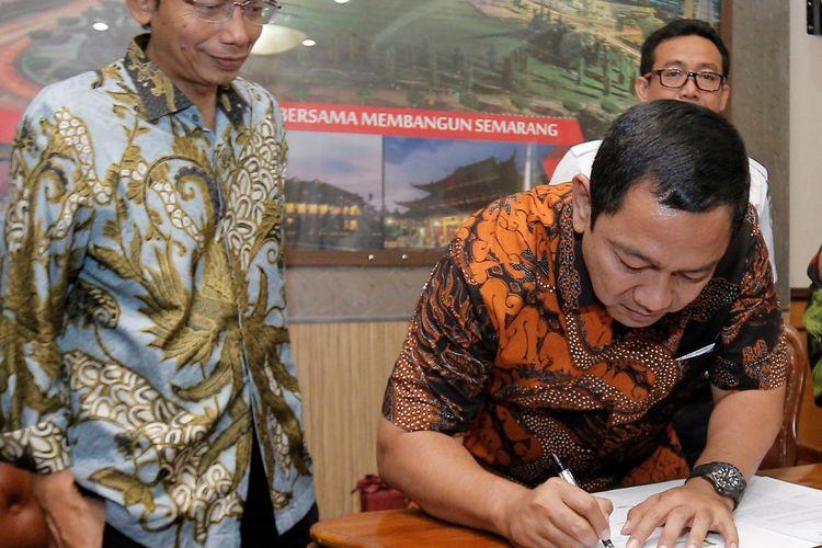 Bangun Transportasi Kota Berbasis Rel, Pemkot Semarang Gandeng PT. KAI