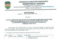 Jadwal, Lokasi, dan Segala Hal soal SKB CPNS 2019 di Kabupaten Purwakarta