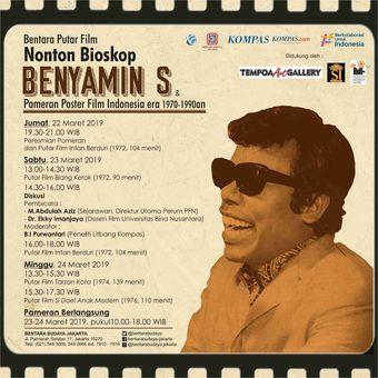 E-poster Nonton Bioskop Benyamin S
