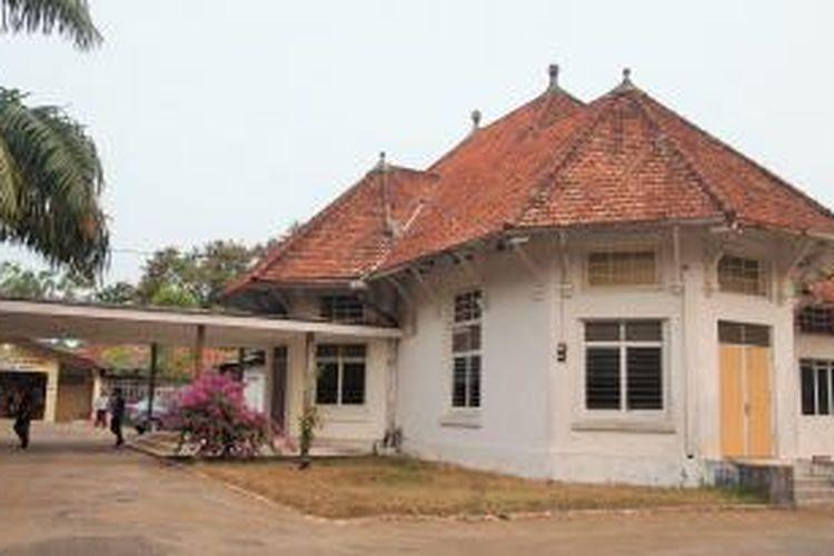 Salah satu homestay yang terletak di Kota Muntok, Kabupaten Bangka Barat