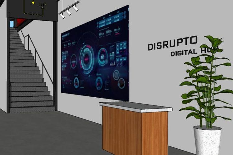 Disrupto Digital Hub di BSD City, Tangerang Selatan.