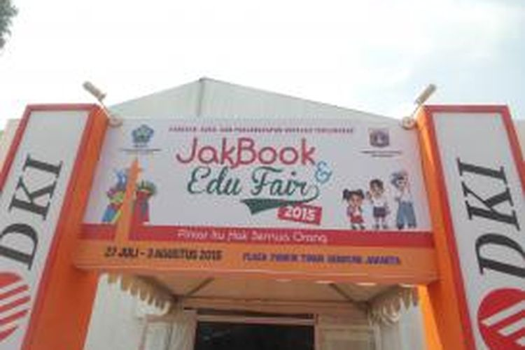 Festival Jak Book & Edu Fair 2015 di Parkir Timur Senayan, Jakarta