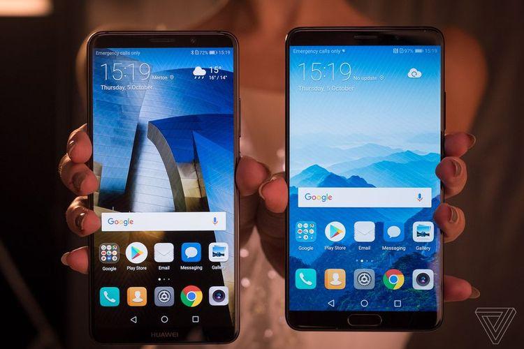 Mate 10 dan Mate 10 Pro, Ponsel  Huawei dengan Prosesor Terbaru