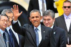 Presiden Obama Tiba di Korea Selatan