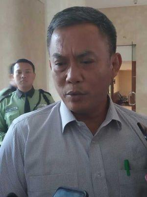 Ketua DPRD DKI Jakarta Prasetio Edi Marsudi di lantai 3, Gedung DPRD DKI, Senin (23/12/2019)