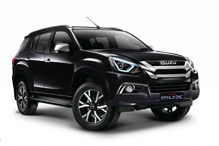 Isuzu MU-X model baru telah meluncur lebih dulu di Thailand dan Filipina