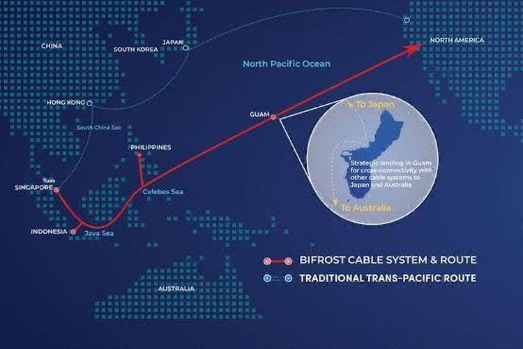 Sistem komunikasi kabel laut (SKKL) atau Bifrost adalah proyek Telkom melalui Telin, bersama Keppel T&T melalui anak perusahaannya Keppel Midgard Holdings Pte. Ltd. (KMH) dan Facebook.