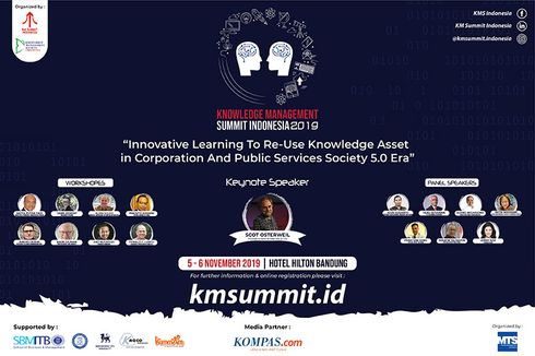 Sambut Era Digitalisasi, Knowledge Management Summit Hadirkan Narasumber Pakar Dunia di Bandung
