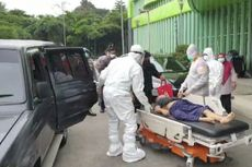 Kisah Haru Wakapolres Jakarta Selatan, Menangis karena Gagal Selamatkan Pasien Kritis Covid-19