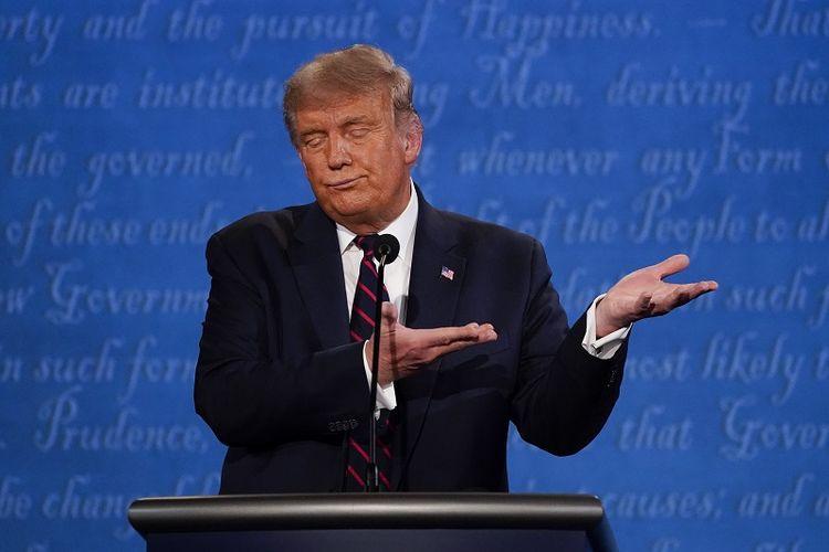 Presiden Donald Trump Positif Covid-19, seperti Apa Pemberitaan Media di  AS? Halaman all - Kompas.com