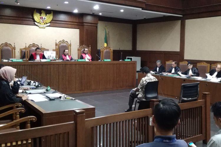 Sidang terdakwa Mantan Ketua Umum PPP sekaligus anggota DPR Romahurmuziy atau Romy di Pengadilan Tipikor Jakarta, Senin (23/9/2019)